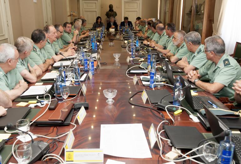 España España El ministro del Interior, Fernando Grande-Marlaska, asiste a la reunión del Consejo Superior de la Guardia Civil