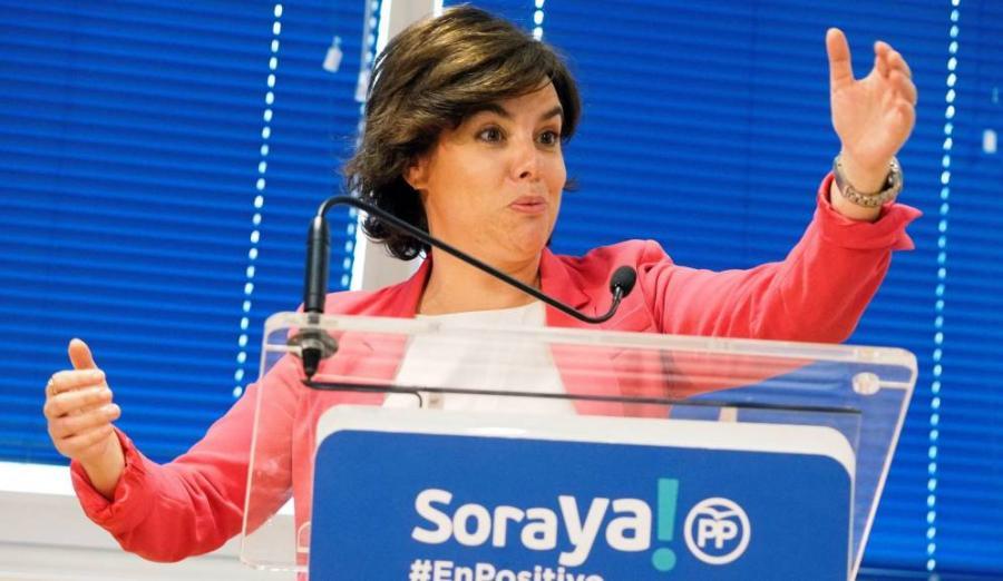 Actualidad Noticias El 45% de los votantes del PP apoya a Sáenz de Santamaría como sustituta de Rajoy