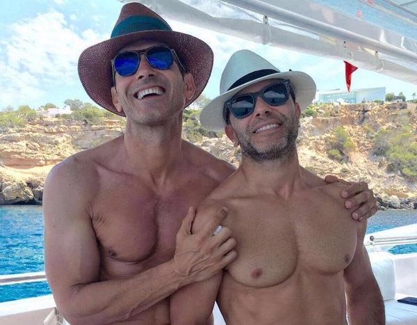 Gays Gays Jesús Vázquez cuenta su historia de amor con su marido