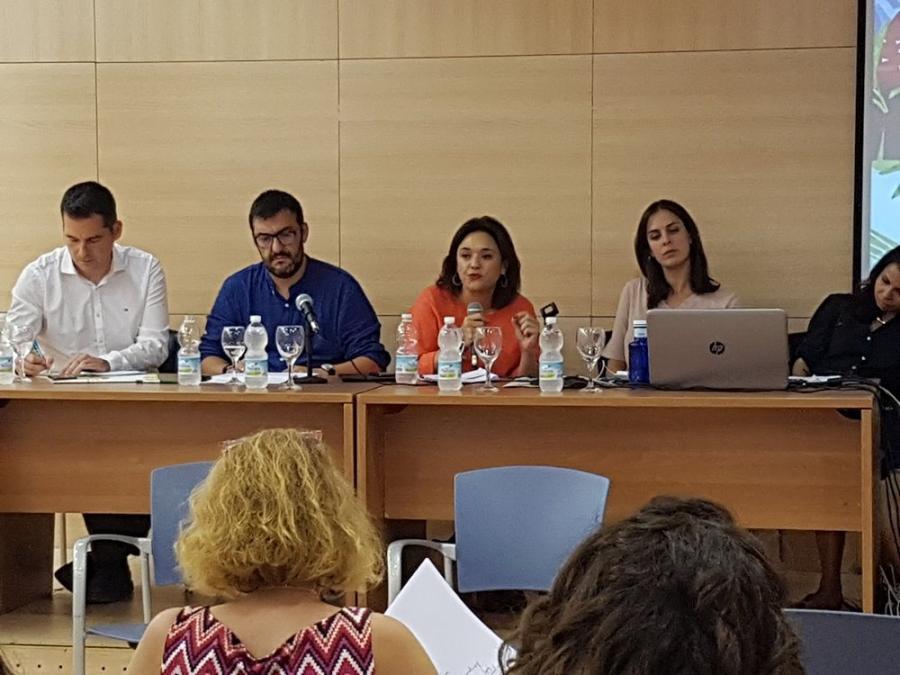 """Mancomunidad Mancomunidad Margarita del Cid, presidenta de la Mancomunidad: """"En Acosol apostamos por un modelo de gestión 100% pública y por una política de servicios eficientes y de calidad"""""""