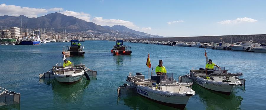 Mancomunidad Mancomunidad La Mancomunidad retira 152,5 toneladas de residuos de las aguas litorales