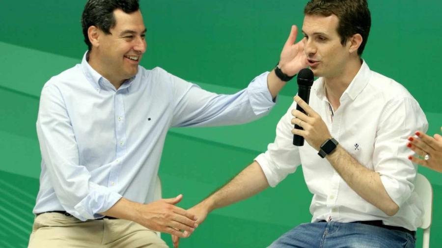 Actualidad Noticias El PP confía su suerte en Andalucía a poder gobernar con Ciudadanos