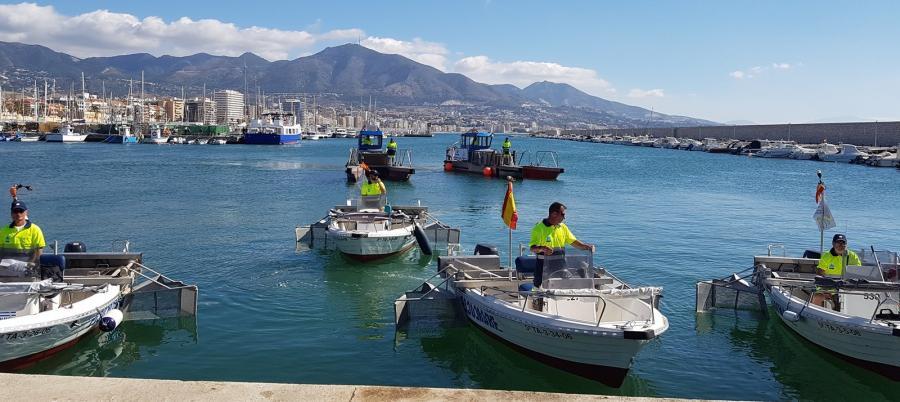Mancomunidad Mancomunidad La Mancomunidad retira casi 143 metros cúbicos de residuos de las aguas litorales en el mes de junio