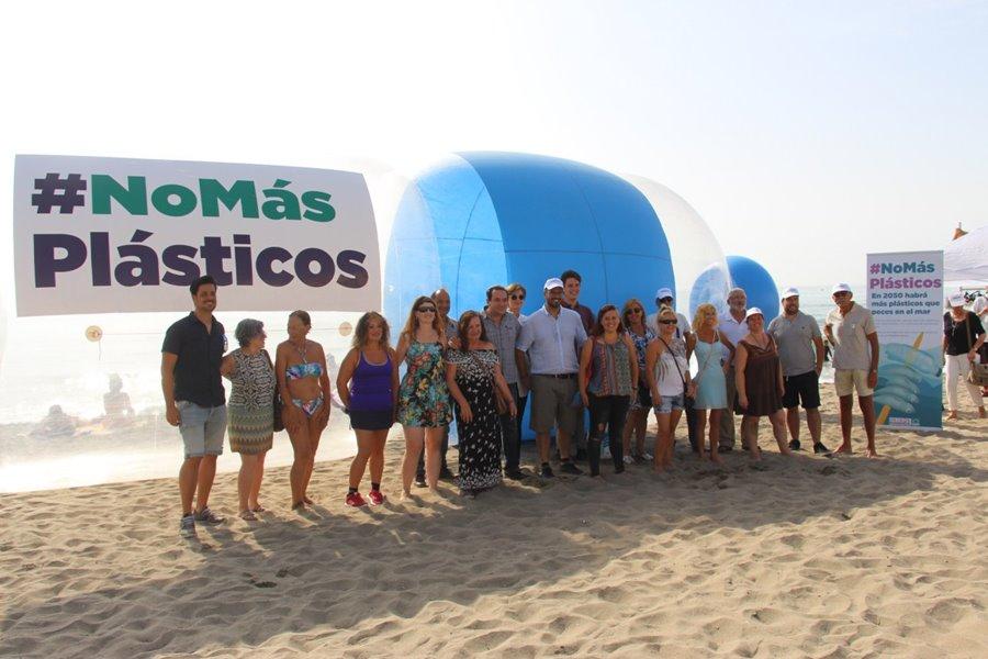 Torremolinos Torremolinos CSSP/Podemos Torremolinos lanza una campaña para acabar con los plásticos de un solo uso en la Costa del Sol