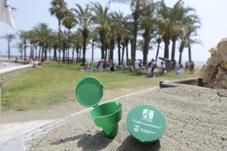 Torremolinos Torremolinos El Ayuntamiento de Torremolinos y Litosa presentan la campaña 'Las colillas no se esfuman'