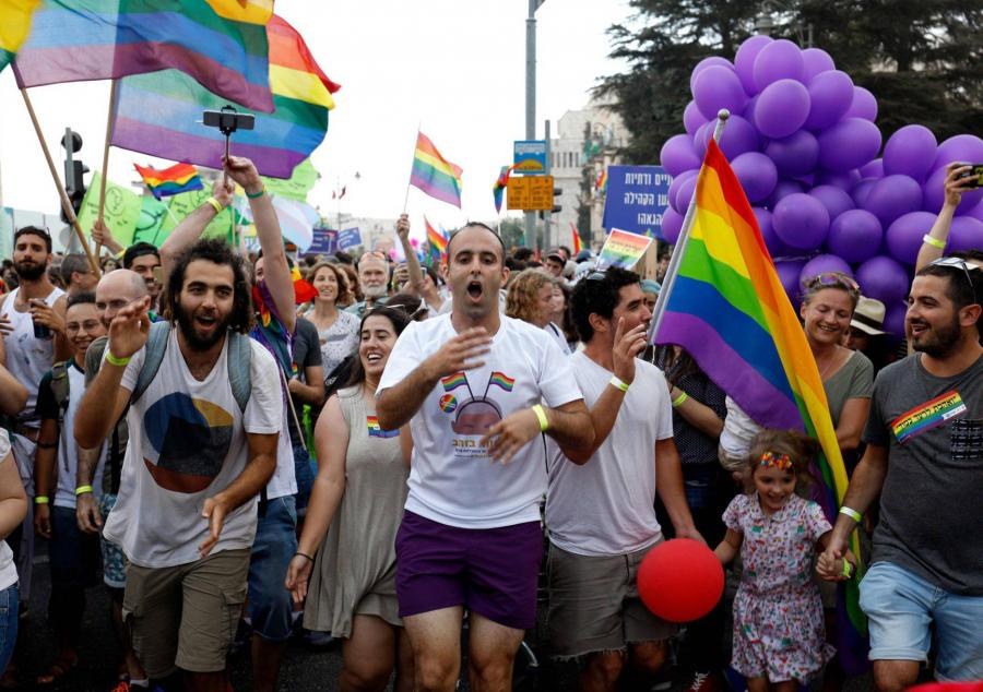 Gays Gays La marcha del orgullo desborda Jerusalén pese a las amenzas homófobas