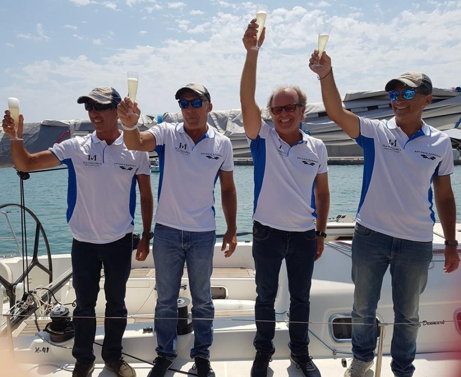 """Actualidad Noticias Javier Banderas, armador y medalla de oro en la 37ª Copa del Rey de Vela: """"La clave ha estado en la tripulación con 7 malagueños y 2 canarios que han dado el 120%"""""""