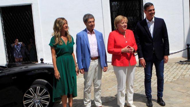 Internacional Internacional Merkel y Sánchez se reúnen en Doñana para abordar la crisis migratoria