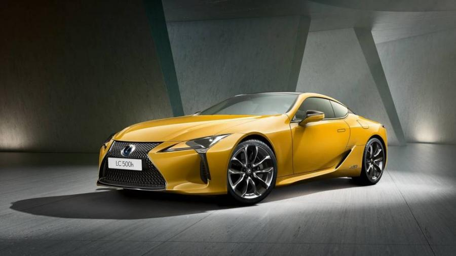 Motor Motor Lexus saca los colores al LC500 con su variante Yellow Edition