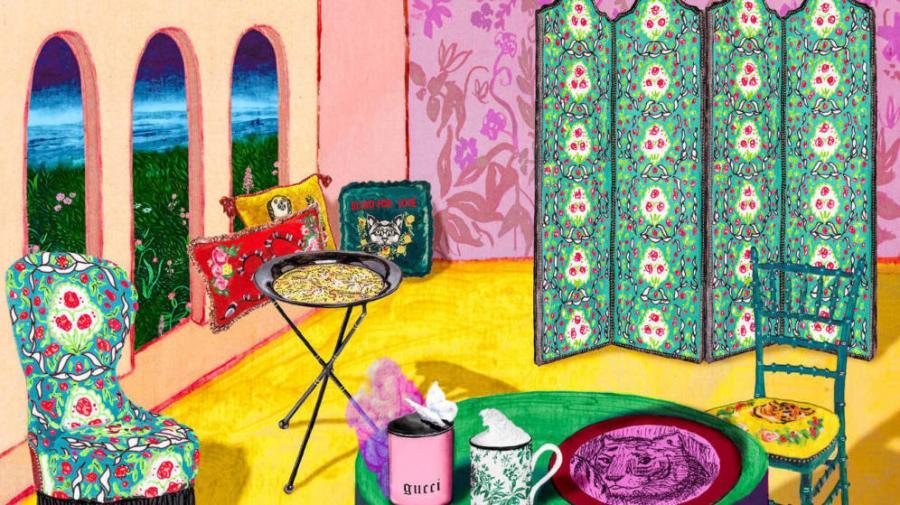 Decoracion Decoracion Loewe, Gucci y otras firmas de lujo que se atreven con la decoración