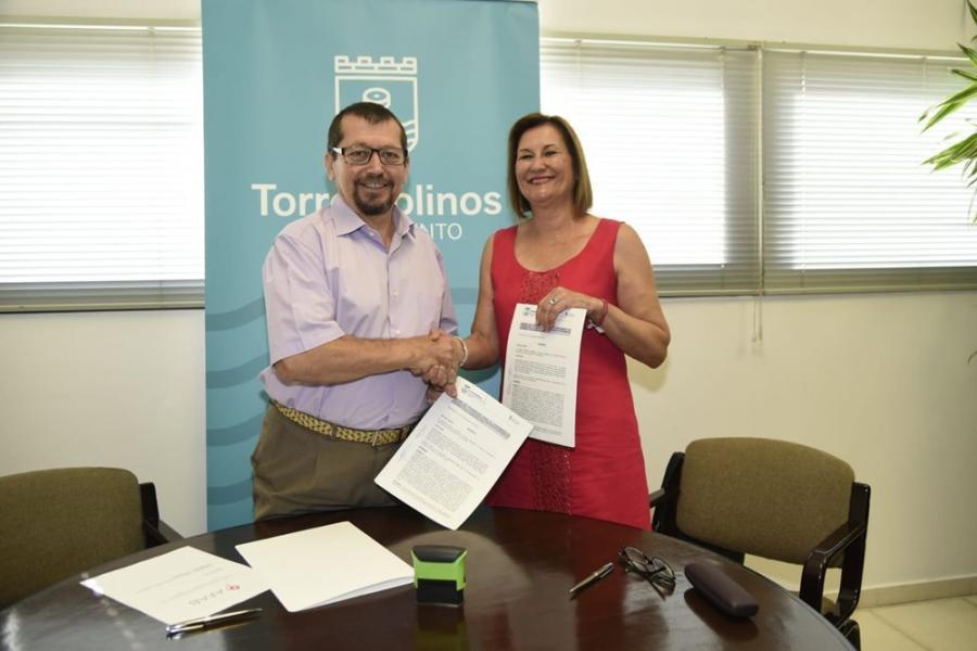 Torremolinos Torremolinos Torremolinos subvenciona con 10.000 euros el trabajo de la AFAB en el Día Mundial del Alzheimer