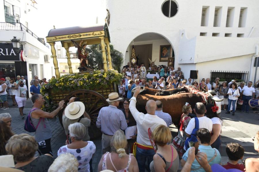 Torremolinos Torremolinos Sebastián Lara, presidente de la Peña de la Güena Gente, pregonero de la Feria San Miguel de Torremolinos 2018