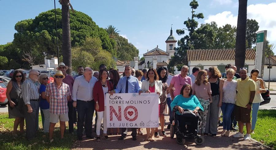 """Torremolinos Torremolinos Bendodo y Del Cid presentan la campaña """"Con Torremolinos no se juega"""" afirmando que """"la mala gestión sanitaria es lo que va a sacar al PSOE de la Junta de Andalucía"""""""