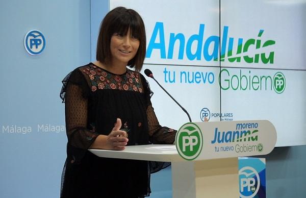 """Málaga Málaga Ruth Sarabia, Acción Social del PP: """"La Junta engaña con las ayudas al alquiler de 2017 que no ha ejecutado  y la convocatoria de 2018 que ni siquiera ha salido aún"""""""