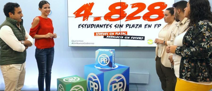Málaga Málaga Casi 5.000 jóvenes se quedan sin plaza de FP en Málaga, según denuncia Nuevas Generaciones del PP