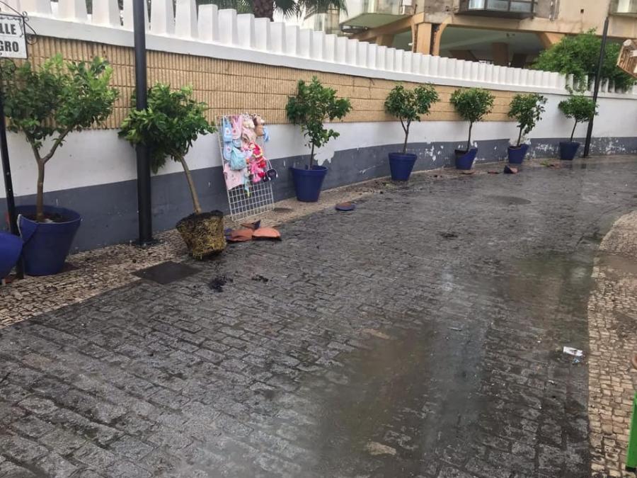 Torremolinos Torremolinos Vecinos de la Cuesta del Tajo solicitan al equipo de gobierno que se revisen las obras de saneamiento para que no supongan un riesgo para el ciudadano