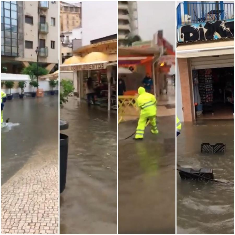 """Torremolinos Torremolinos Nuevas inundaciones en la calle Peligro de Torremolinos: El PP denuncia que el PSOE se gasta cerca en un millón de euros en unas obras que califican de """"fraude"""""""