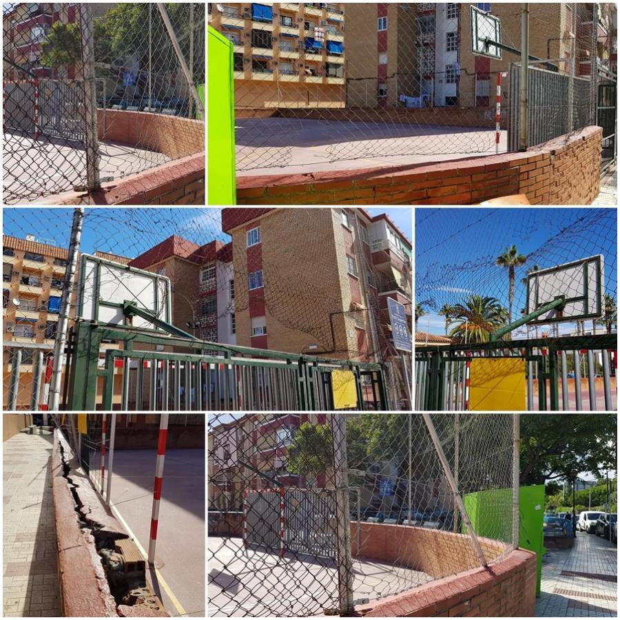 Torremolinos Torremolinos El PP de Torremolinos pedirá en el próximo pleno que se arregle el espacio deportivo de la calle Pablo Iglesias ante el grave estado de deterioro