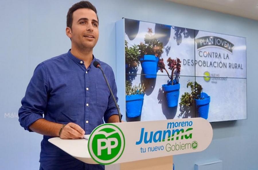 Málaga Málaga El Decálogo del Plan Joven contra la Despoblación del Medio Rural de Nuevas Generaciones del PP