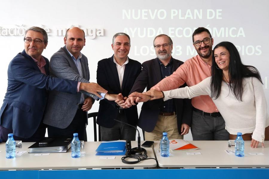 Málaga Málaga La Diputación aprueba por unanimidad destinar 14 millones de euros a un nuevo plan de ayuda económica a los municipios