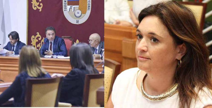 """Torremolinos Torremolinos Margarita del Cid (PP): """"El que fue coordinador municipal de Policía señala al alcalde como el responsable del fraccionamiento de contratos para supuestamente eludir la concurrencia pública"""""""