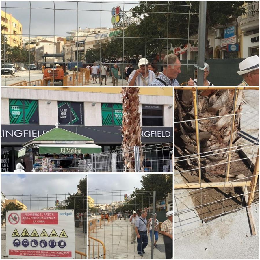 Torremolinos Torremolinos Las consecuencias de las polémicas obras de peatonalización del centro de Torremolinos: Chapuzas, huída de empresas y hartazgo de los comerciantes