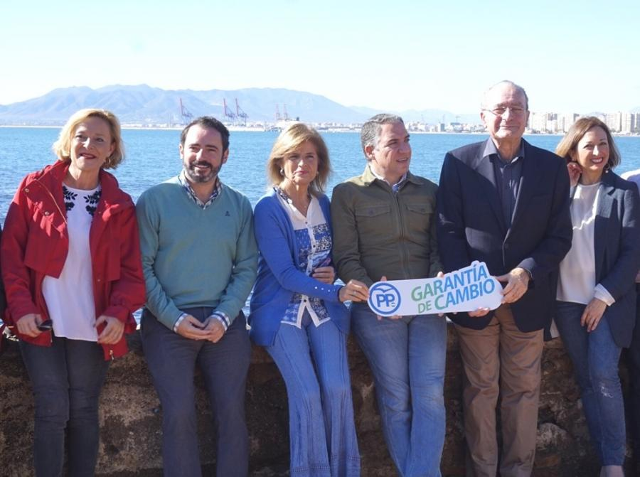Málaga Málaga El PP anuncia 100.000 empleos en la provincia de Málaga vinculados a grandes infraestructuras