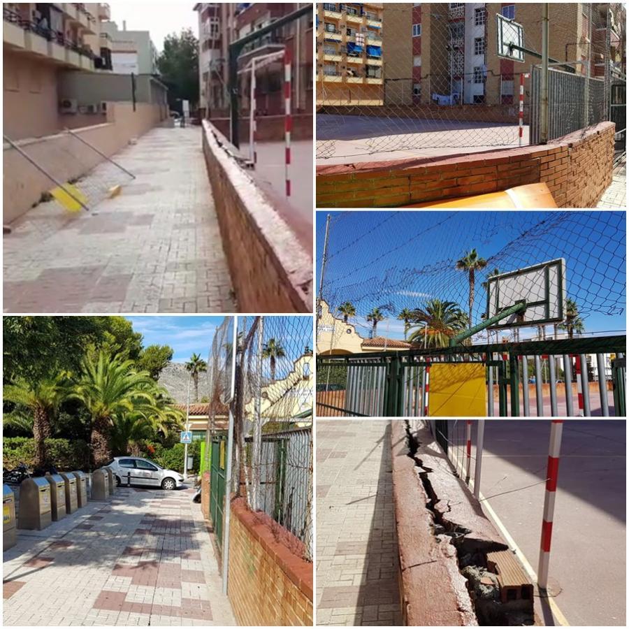 Torremolinos Torremolinos El Partido Popular advierte del grave deterioro de la zona deportiva ubicada en la calle Pablo Iglesias y volverá a reclamar su arreglo