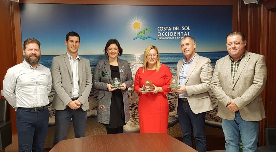"""Mancomunidad Mancomunidad Fuengirola, Manilva y Casares, premio """"Iglú Verde"""" por sus altos niveles de recogida de vidrio"""