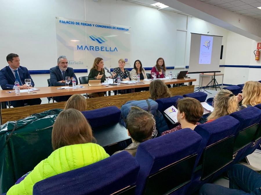 Mujer Mujer La Diputación de Málaga participa en el I Foro Turismo e Igualdad celebrado en Marbella