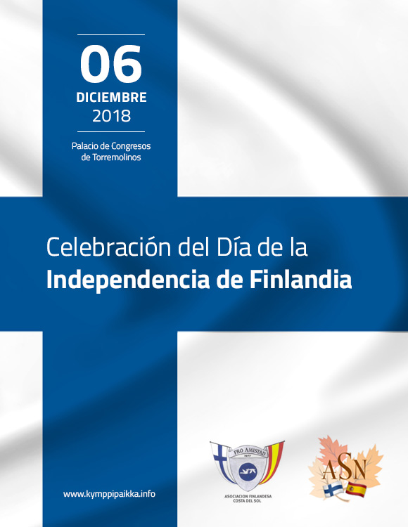 Torremolinos Torremolinos La comunidad finlandesa de la Costa del Sol celebra el 6 de diciembre en el Palacio de Congresos de Torremolinos el 101 aniversario de la independencia del país