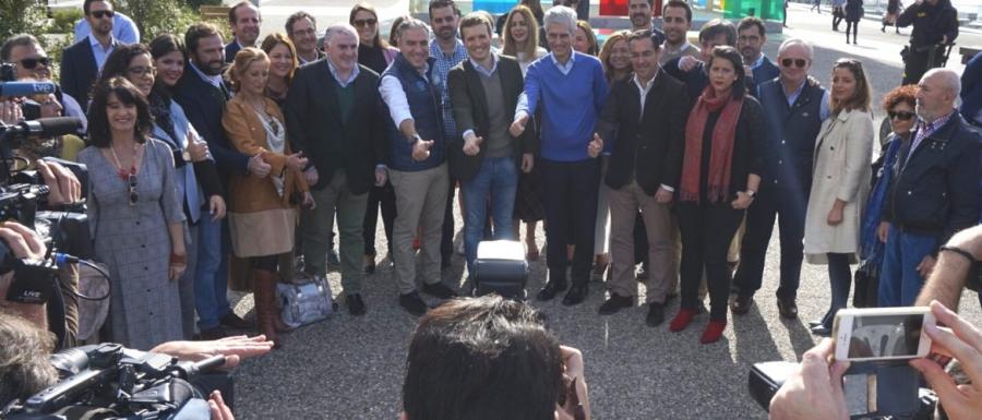 Málaga Málaga Casado alaba que Málaga se haya convertido de la mano del PP en referente del turismo cultural y la innovación tecnológica