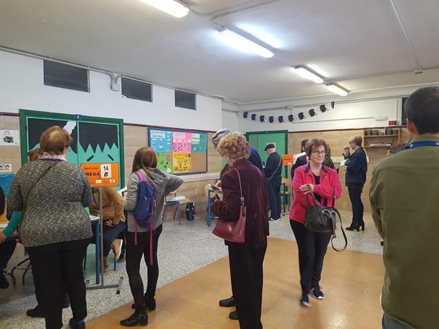Torremolinos Torremolinos Normalidad y buen tiempo en esta jornada electoral andaluza del 2D en los colegios torremolinenses