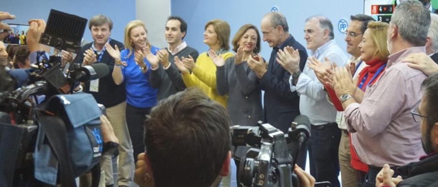 """Andalucía Andalucía Navarro asegura que hoy """"está más cerca que nunca· una alternancia que suponga el fin del PSOE en el Gobierno andaluz  """"y que un malagueño presida la Junta de Andalucía"""""""