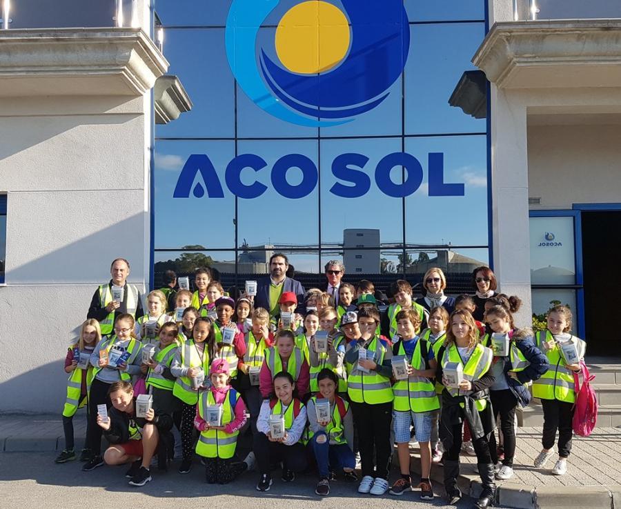 """Mancomunidad Mancomunidad Acosol inicia la campaña escolar de sensibilización medioambiental """"Somos agua"""", en colaboración con el Aula del Mar"""