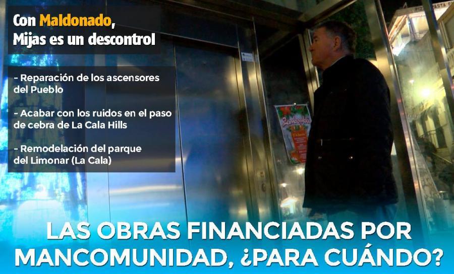 Ayuntamientos Ayuntamientos El PP de Mijas se preocupa por la lentitud con la que Maldonado está tramitando los proyectos financiados por la Mancomunidad