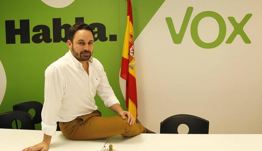 """España España VOX, el peligroso """"experimento sociopolítico"""" de la subasta del argumento extremo y las similitudes para España de un modelo como el de """"El cuento de la criada"""""""