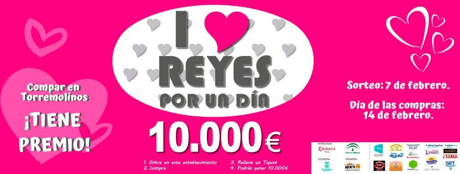 """Torremolinos Torremolinos La ACET celebra mañana el popular sorteo de la campaña """"I Love Reyes Por Un Día"""" con la mano inocente del cantante Javier Ojeda"""