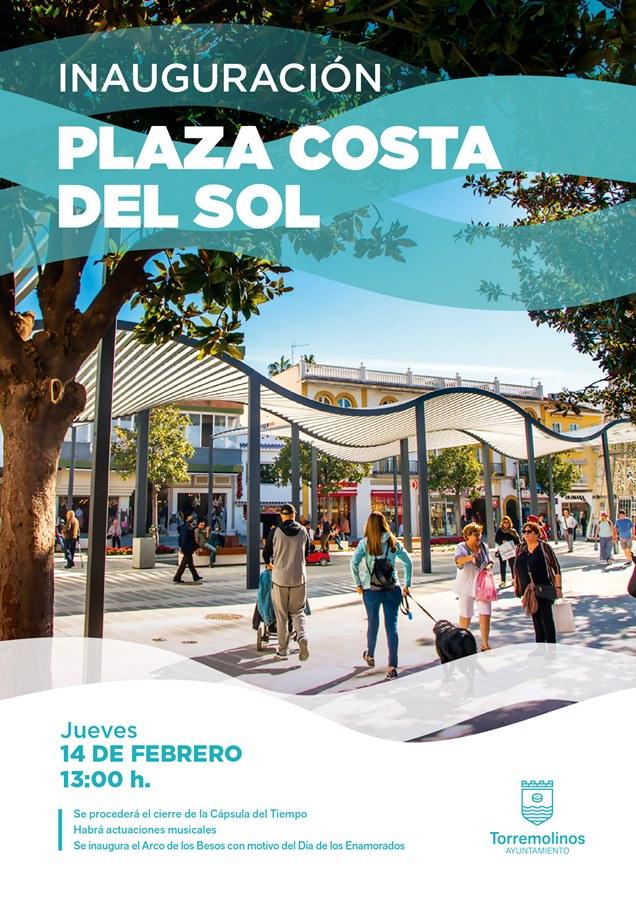 Torremolinos Torremolinos El 14 de febrero es la fecha escogida para la inauguración oficial de la peatonalización de la plaza Costa del Sol que contará con esculturas de Elena Laverón