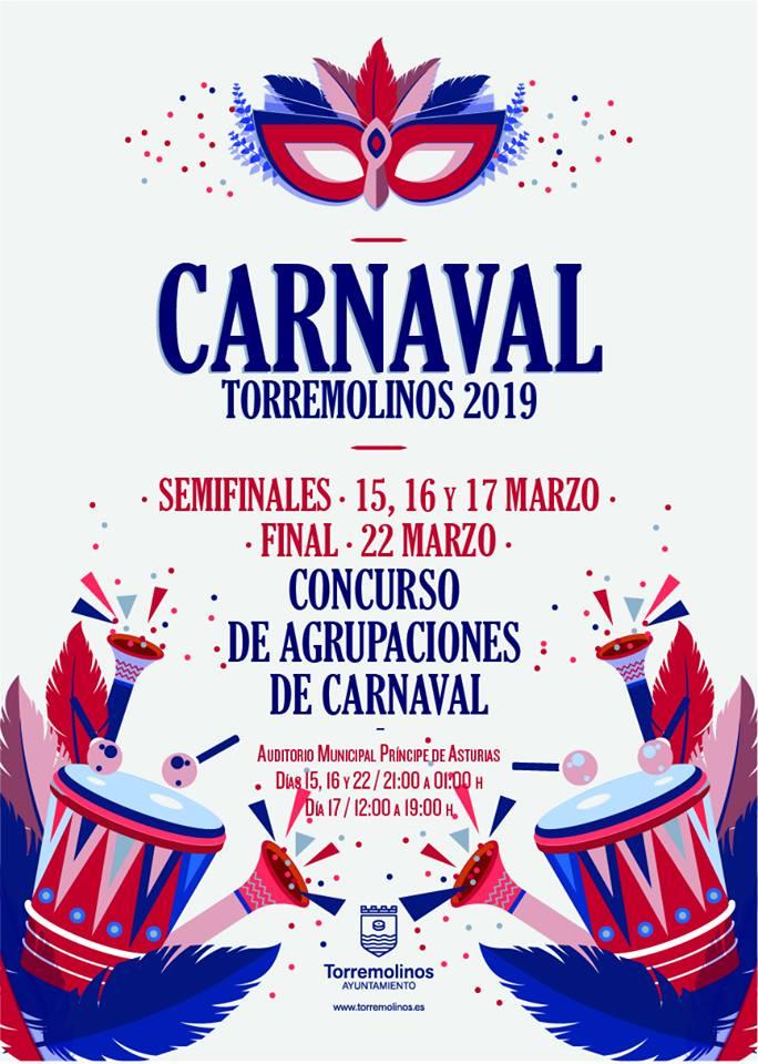 Torremolinos Torremolinos Diez murgas y ocho comparsas se disputan este fin de semana las semifinales del Concurso de Agrupaciones del Carnaval de Torremolinos 2019