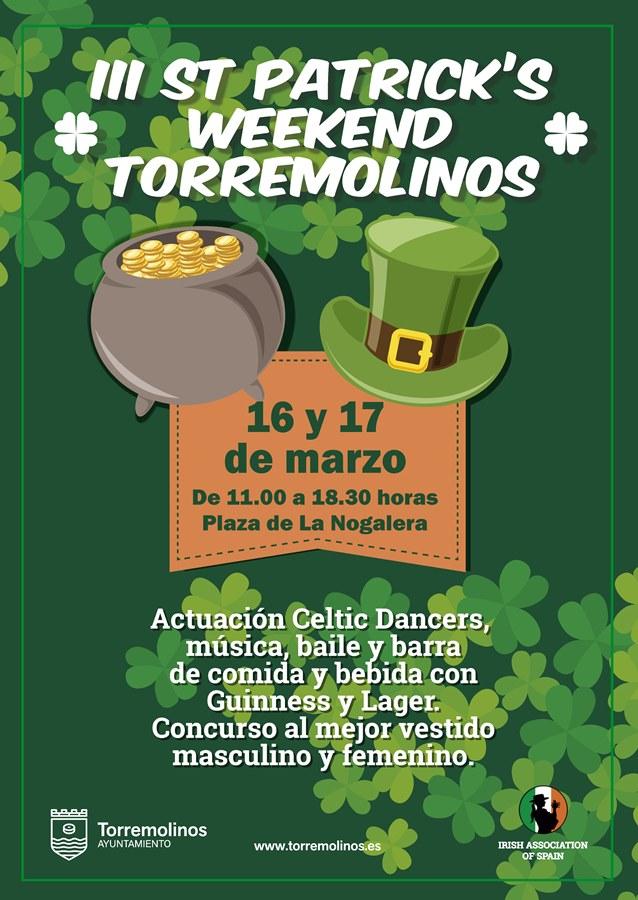 Torremolinos Torremolinos Danzas celtas, gastronomía y un concierto tributo a U2 para celebrar Saint Patrick en Torremolinos