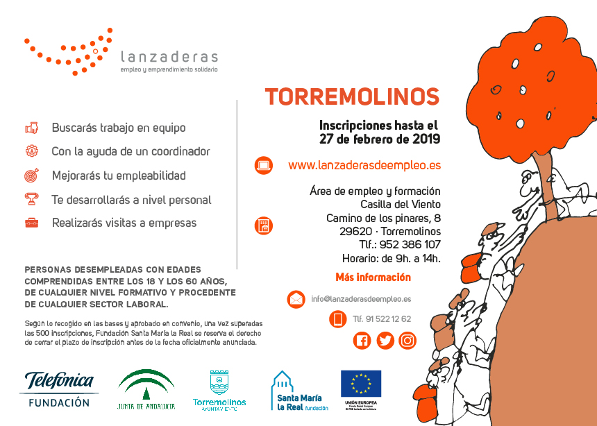 Torremolinos Torremolinos Comienza a funcionar la III Lanzadera de Empleo de Torremolinos con 20 personas en situación de desempleo