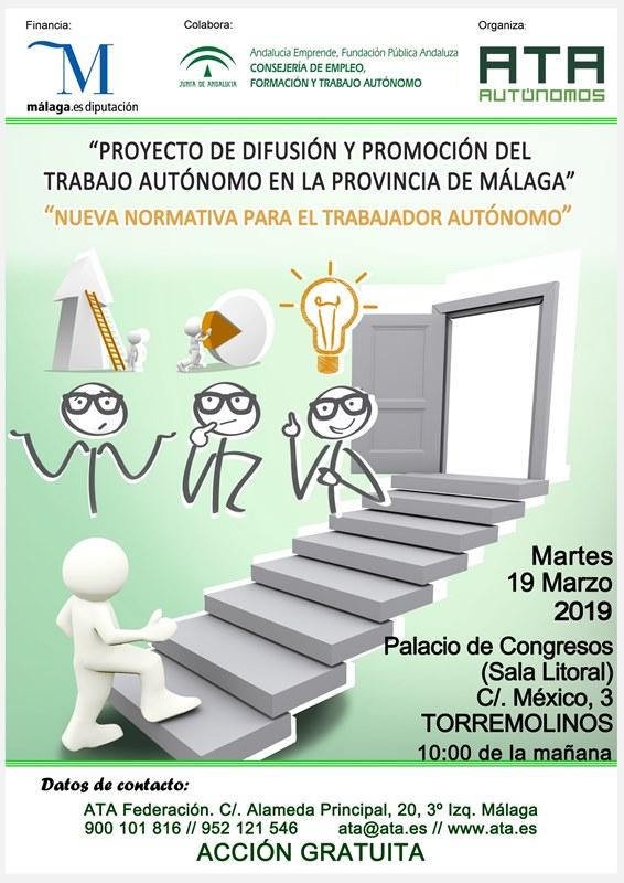 Torremolinos Torremolinos El CADE de Torremolinos convoca un taller para explicar los cambios en la normativa que rige el empleo autónomo