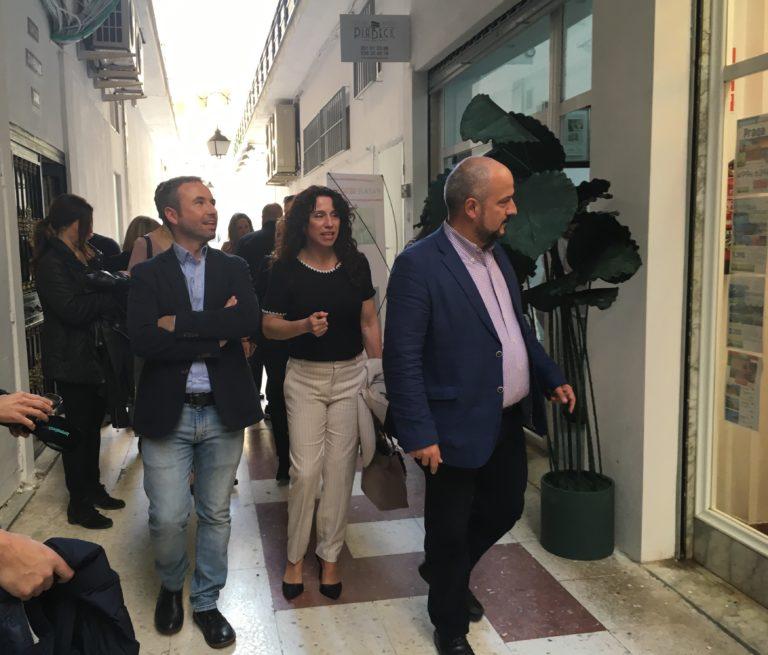 """Torremolinos Torremolinos El candidato de Ciudadanos al Congreso por Málaga, Guillermo Díaz, reivindica el Pasaje Begoña de Torremolinos como un ejemplo de """"héroes por la libertad"""""""