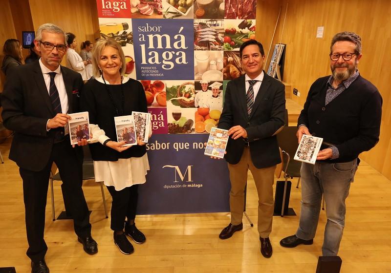 Turismo Turismo La Diputación y 'Sabor a Málaga' impulsan la segunda edición de las guías de Turismo Gastronómico y Turismo Friendly de la provincia