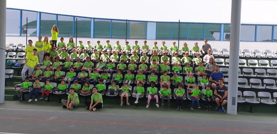 Torremolinos Torremolinos Un grupo de 90 niños disfruta del Campamento Deportivo de Semana Santa del Patronato de Deportes de Torremolinos