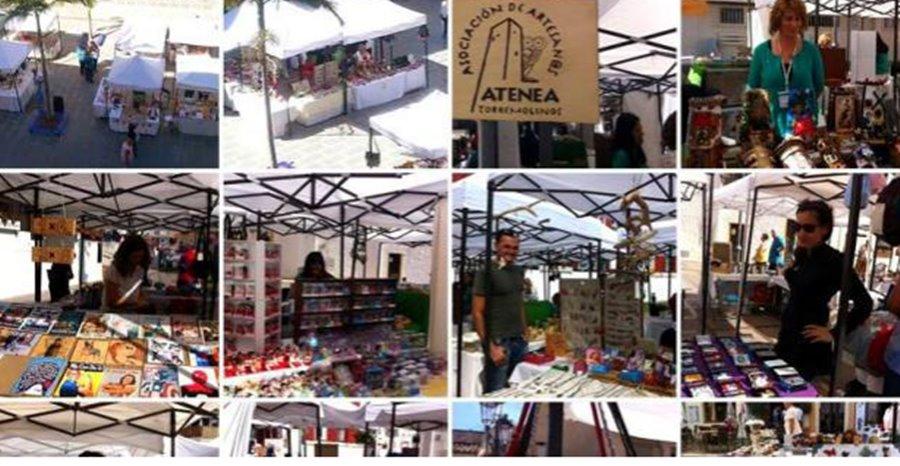 Torremolinos Torremolinos El Mercado Artesanal Atenea se instala esta Semana Santa en La Carihuela