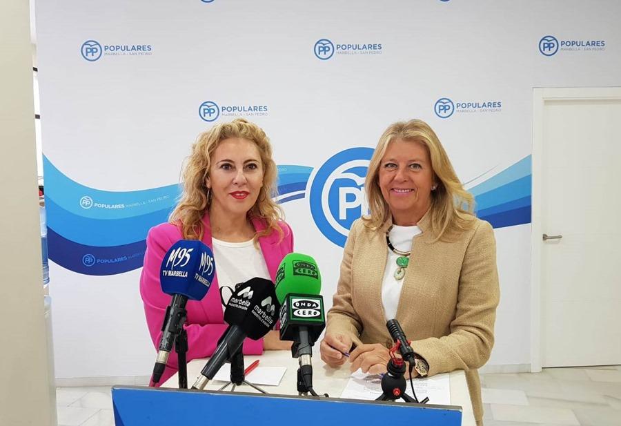 Ayuntamientos Ayuntamientos El PP impulsará sin falta la estabilización de las playas en Marbella y San Pedro