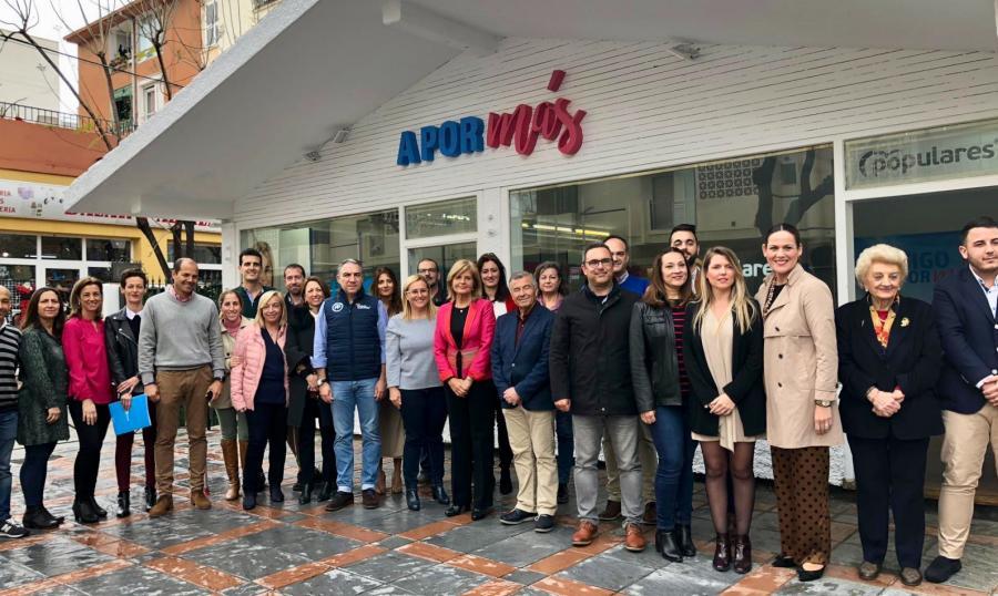 Actualidad Noticias El PP vincula el peso de Fuengirola a su gestión y prevé un gran salto con la Junta como aliada