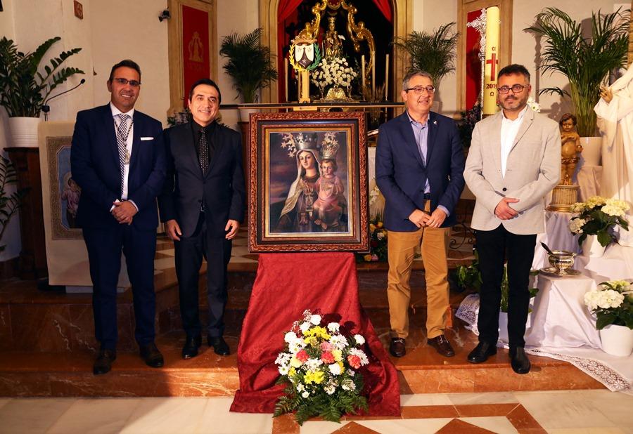 Cultura Cultura El pintor Antonio Montiel, autor del cartel de la Romería de San Isidro de Almogía y del Centenario de la Virgen del Carmen de Rincón de la Victoria